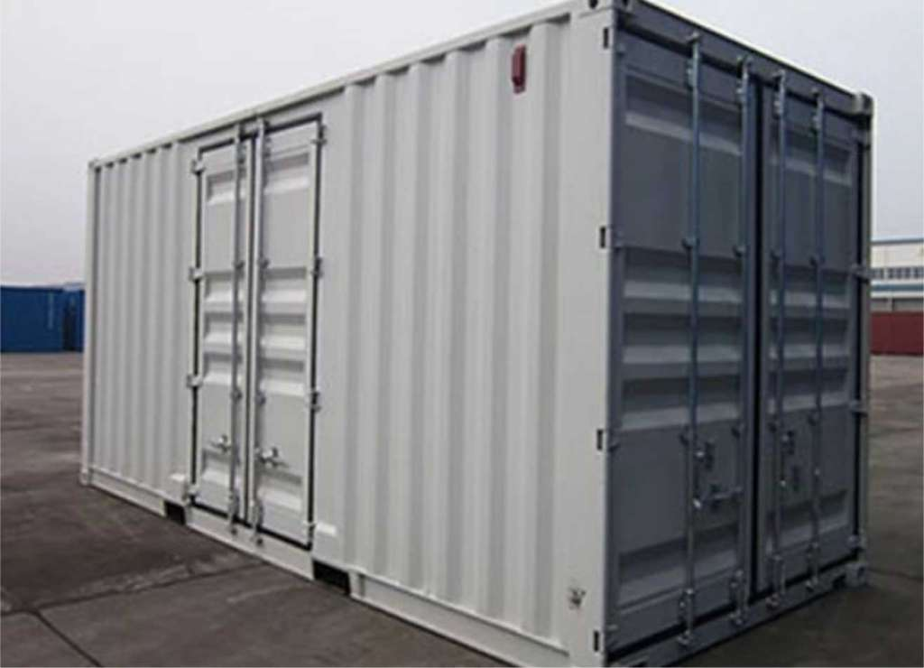 Customizable climate controlled storage container