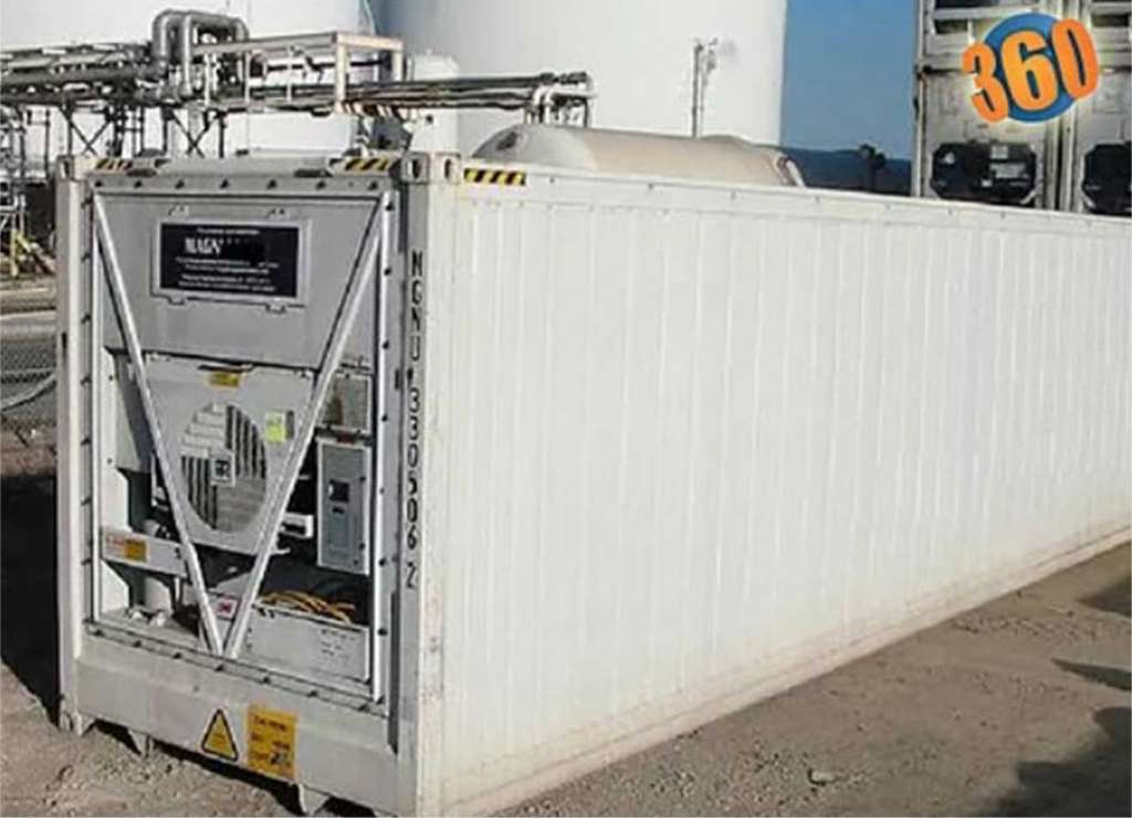 shipping container refrigeration system