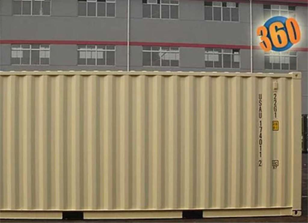 20' shipping container is great for construction, remodeling, retail storage, and more.