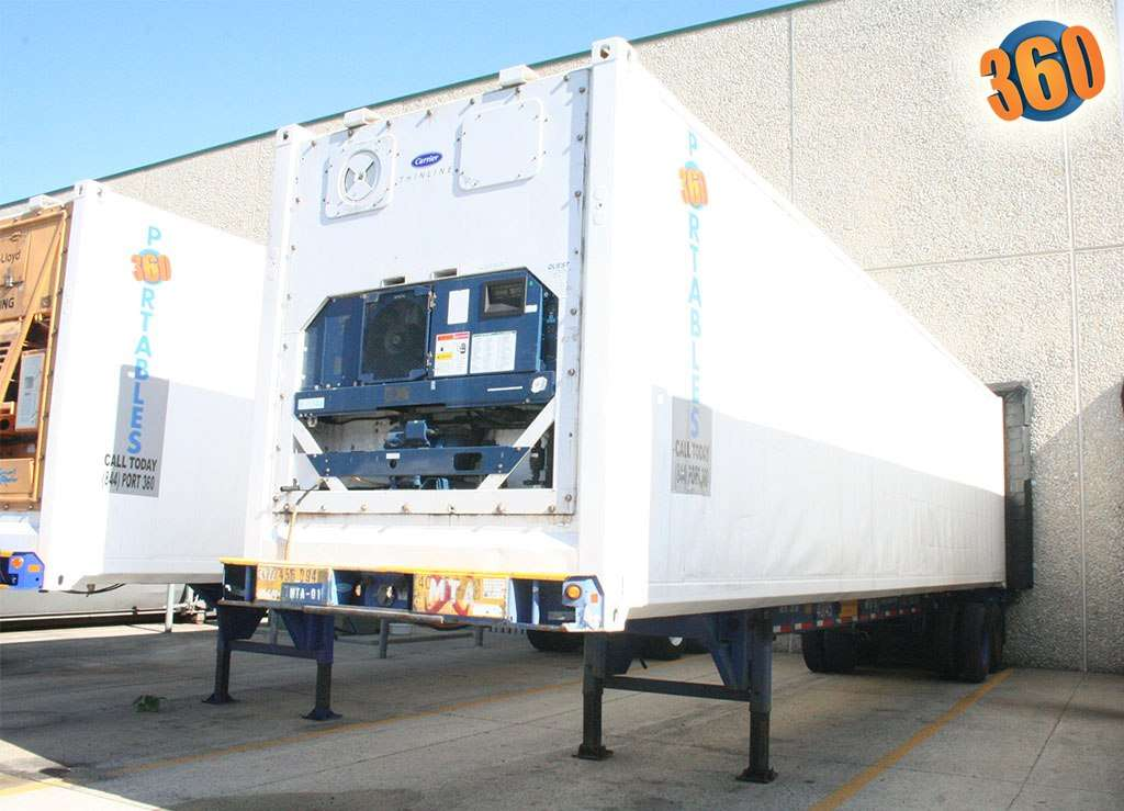 Chassis of Portables 360 storage container
