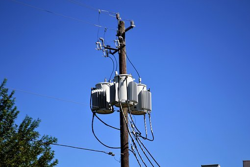 Transformer on power lines
