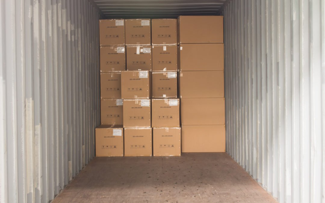 shipping container storage tips