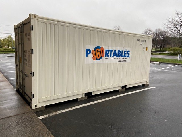 image of a 20' refrigerated trailer for sale or rent